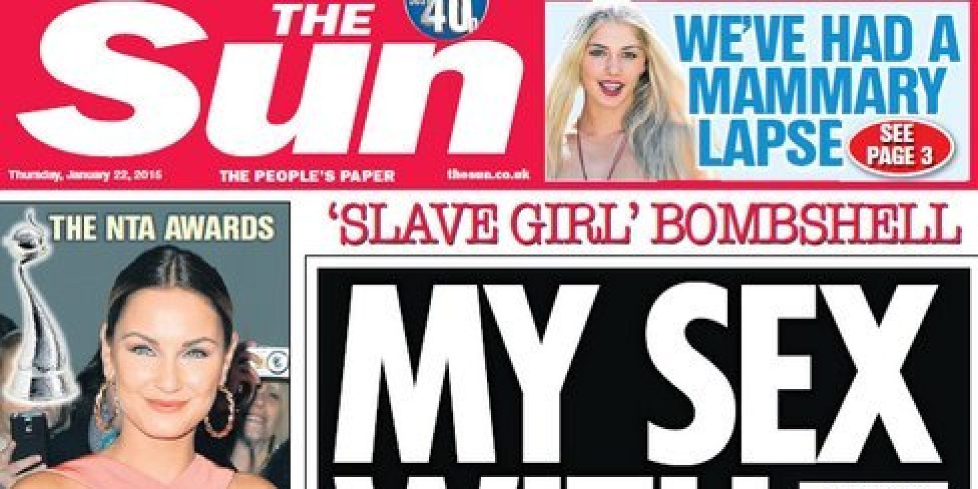 The sun newspaper page 3 girl