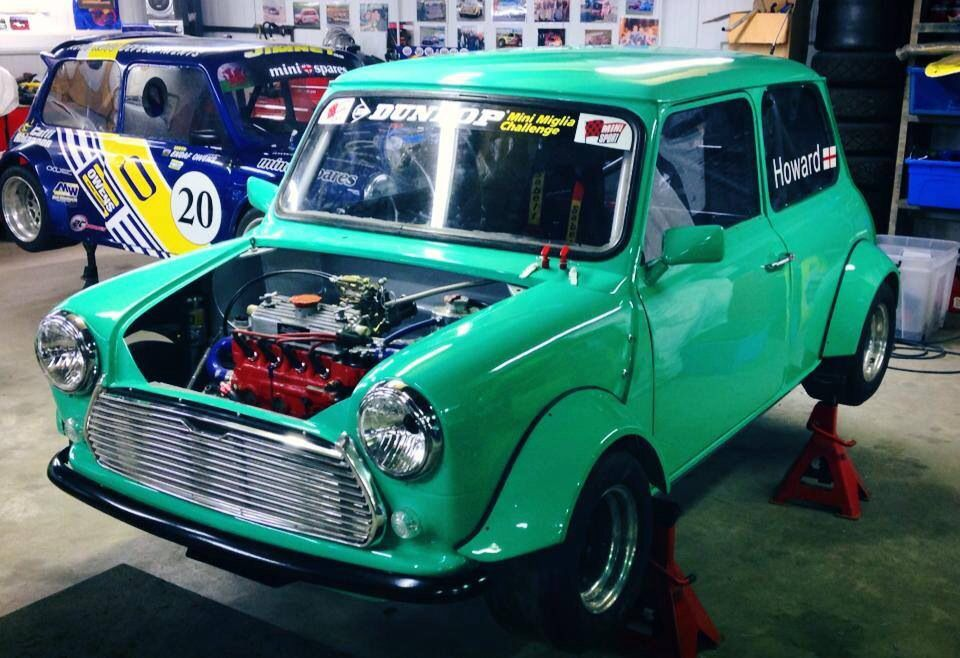 Mini Miglia nearly done at Owens Fabrication | Classic ...