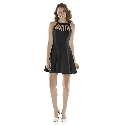 Trixxi Cageneck Skater Dress - Juniors   Dresses   Pinterest ...