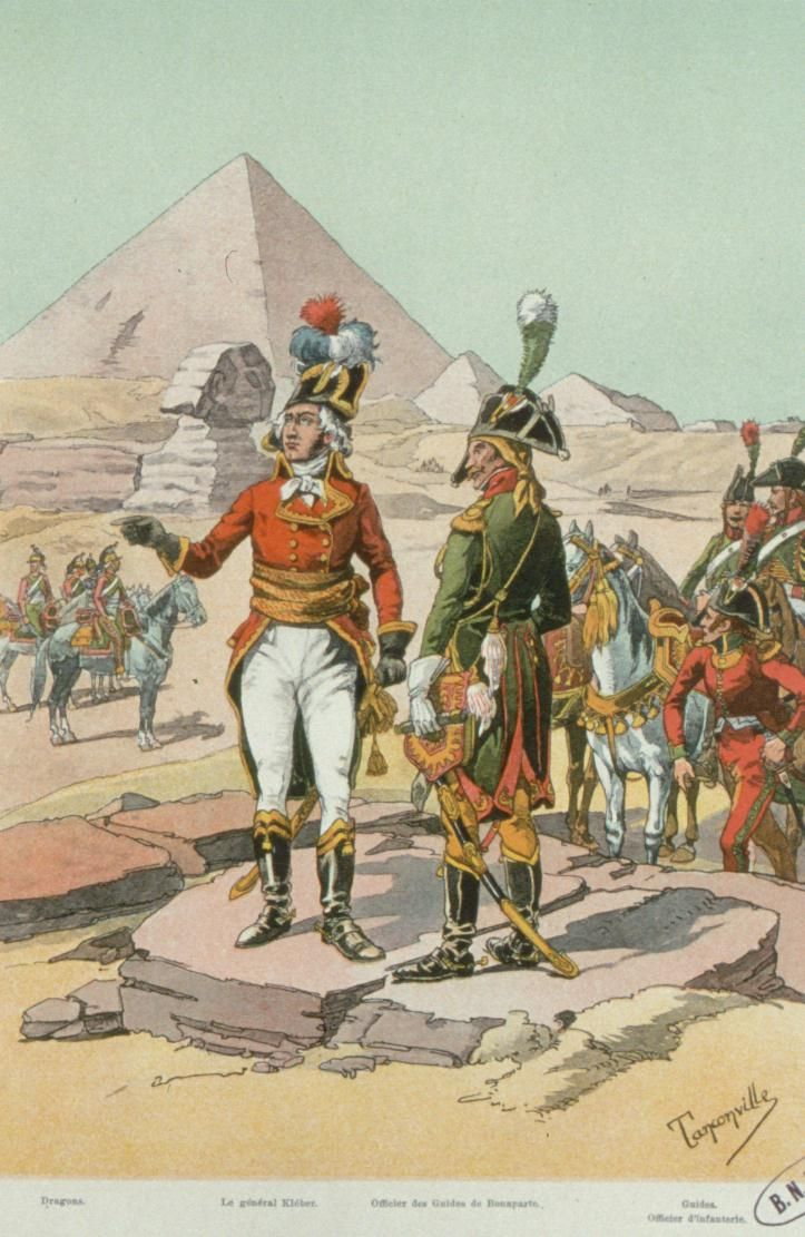 Armée française en Egypte 1799, French army in Egypt 1799.