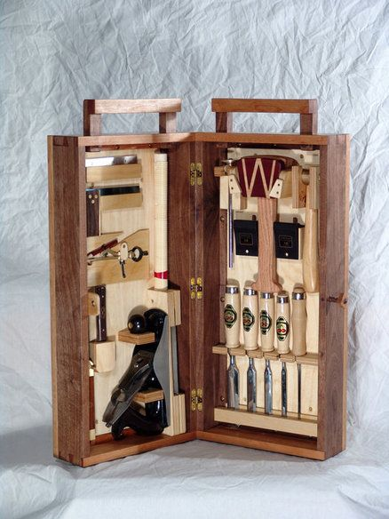 Dovetail tool box