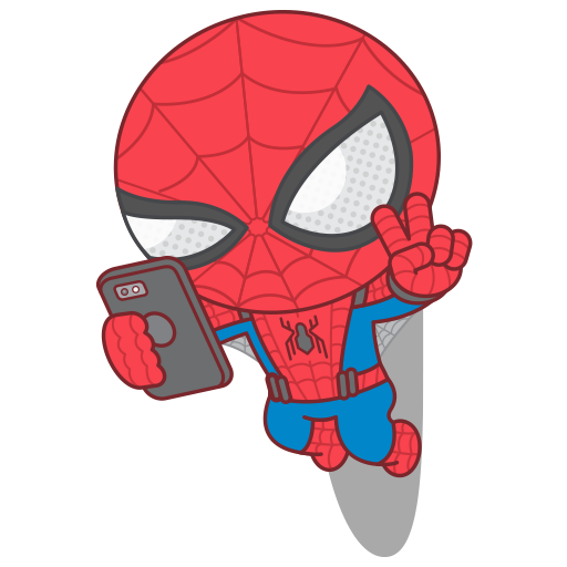Spider man homecoming sticker