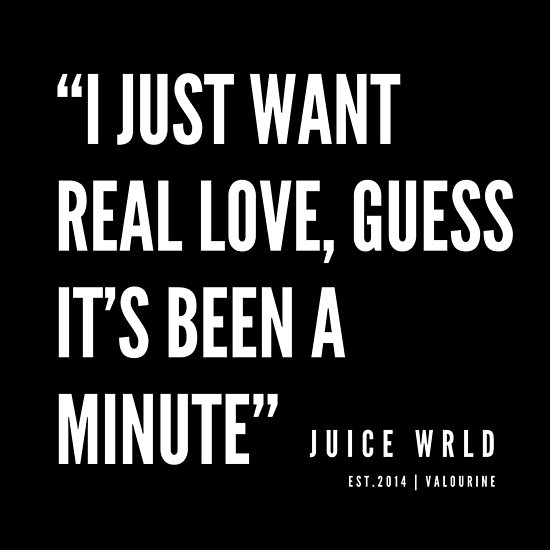 '13 | Juice WRLD Quotes | 190608' Poster by valourine