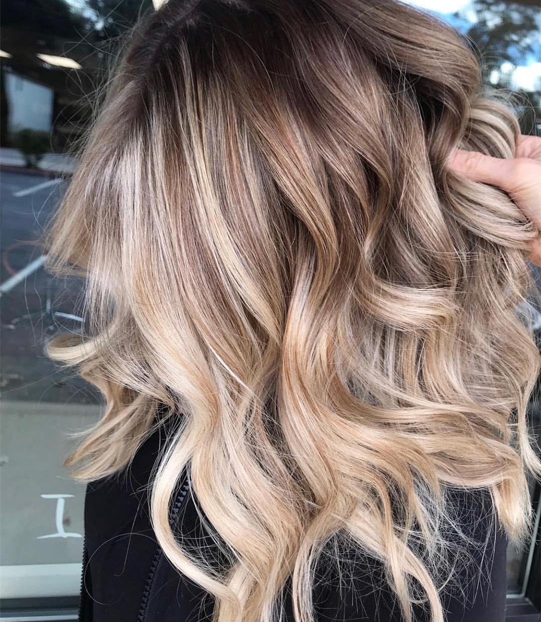 Pin De Tefi En Hair Pelo Con Imagenes Balayage Colores De