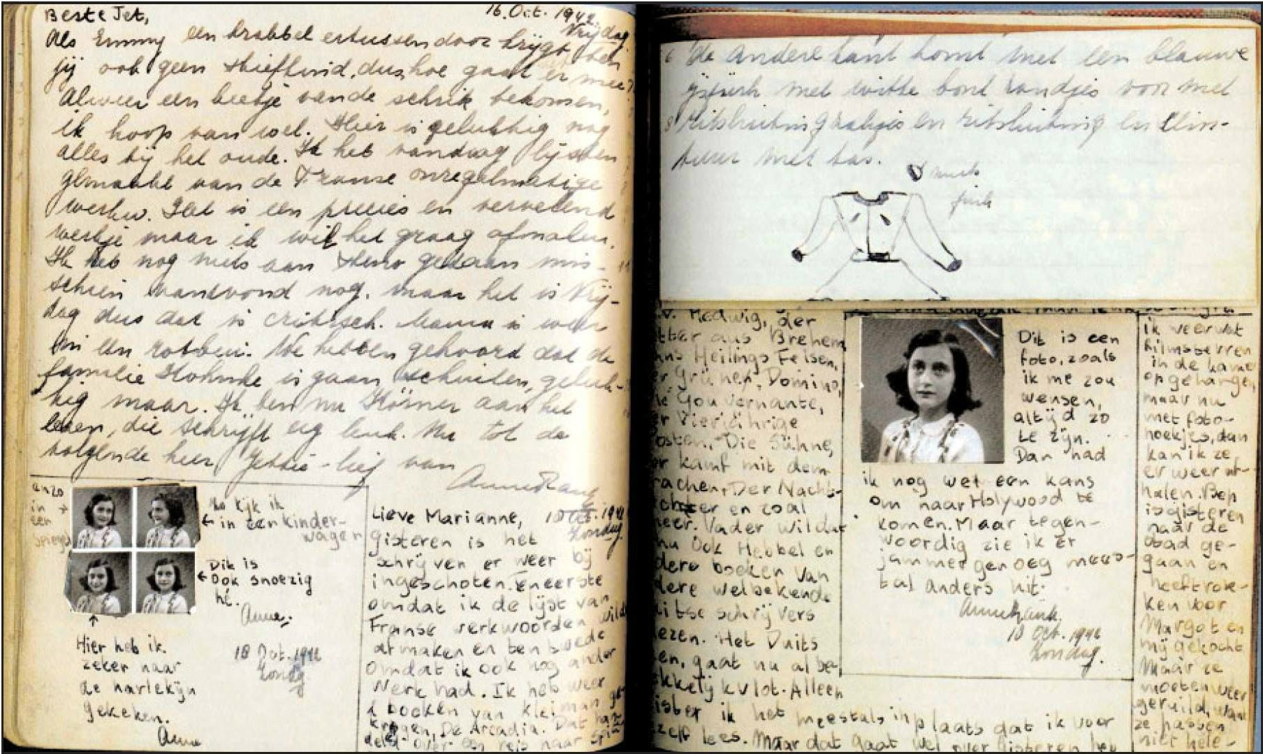 Pin by Callie Mccourry on The Diary of Anne Frank Anne