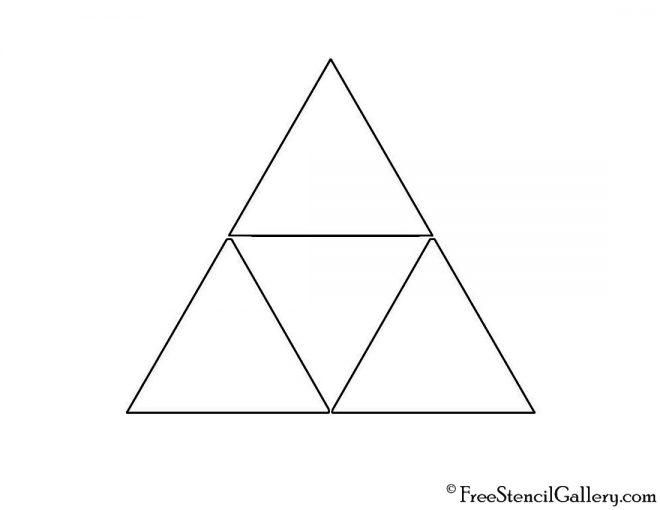 Legend Of Zelda Triforce Symbol Stencil Free Stencil Gallery Triforce Symbol Triforce Legend Of Zelda