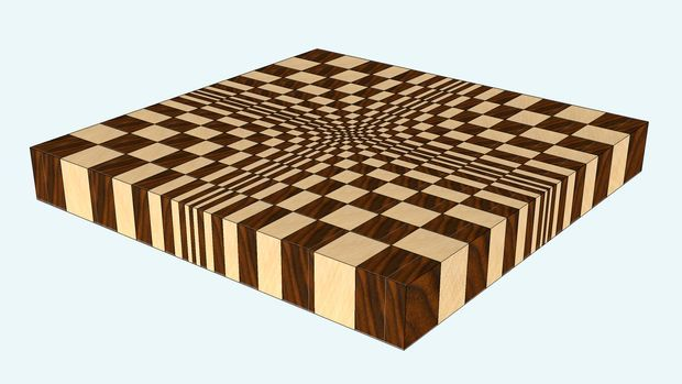 making a 3d end grain cutting board 1 in 2018. Black Bedroom Furniture Sets. Home Design Ideas