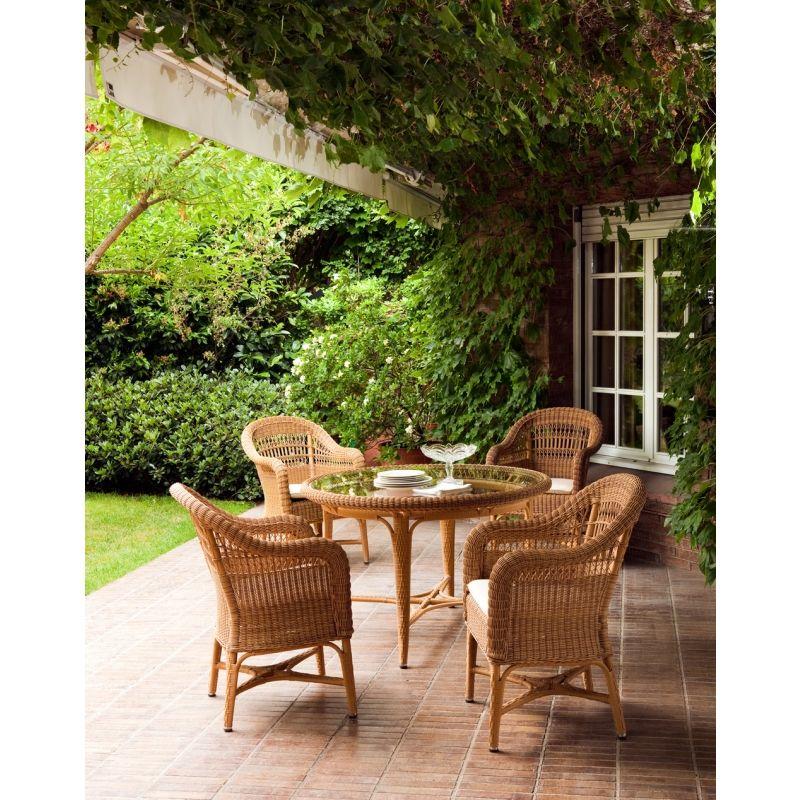 Esstisch Ø 120 Alga von Point \u003e\u003e Terrassenmöbel, Gartenmöbel
