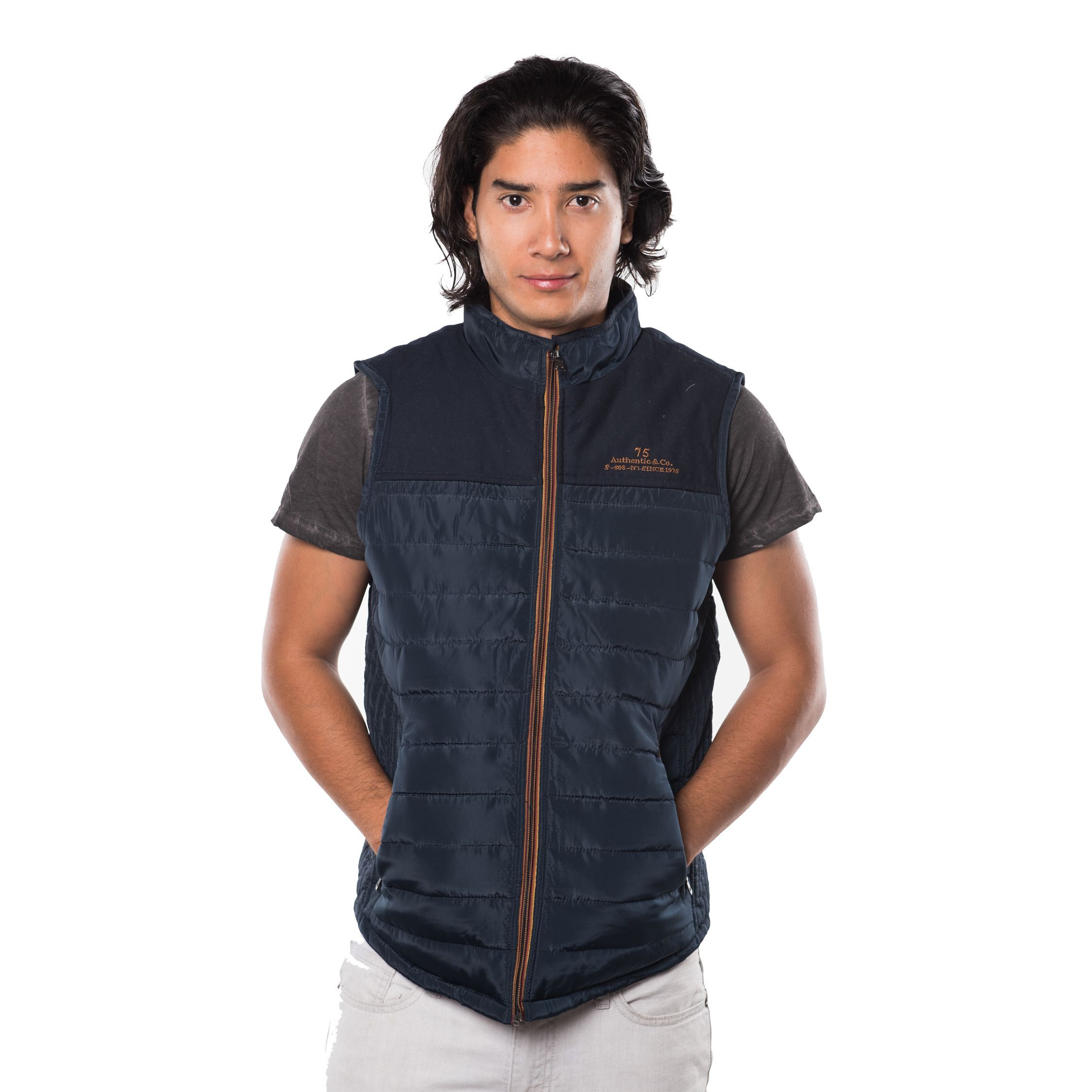 lyst in black men quilt lauren quilted board jacket product driving flash ralph label mens for the normal