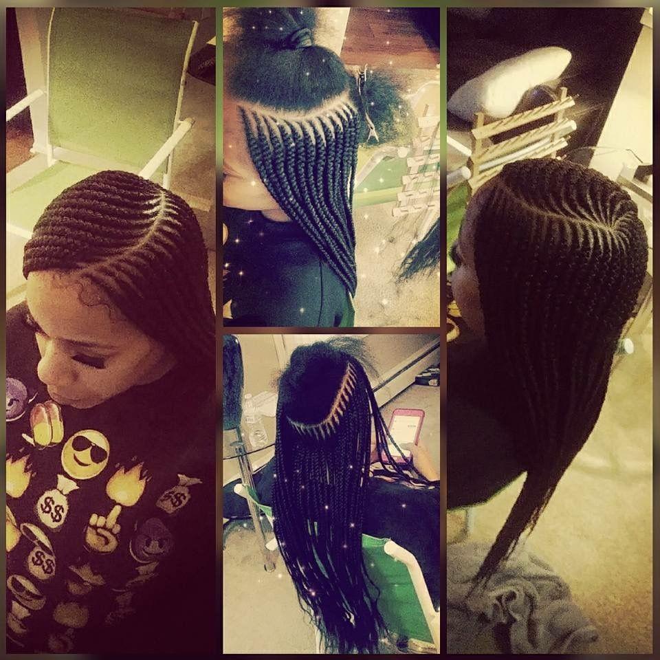 two layers braids | hair in 2019 | curly hair styles, hair