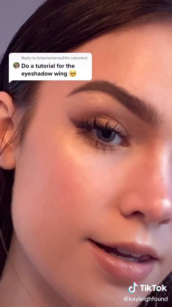 Brown Winged Eyeshadow Look Video Eye Makeup Tutorial Makeup Makeover Eye Makeup
