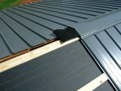 When A New Metal Roof Starts To Leak Shortly After It Was Installed You Will Be Justified To Feel Metal Roof Repair Metal Roof Installation Roof Installation