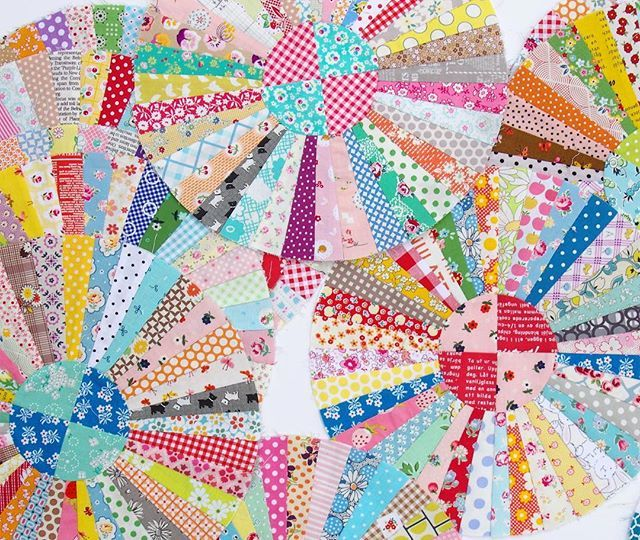 Progress Carousel Quilt Pattern By Sandra Boyle Carouselquilt