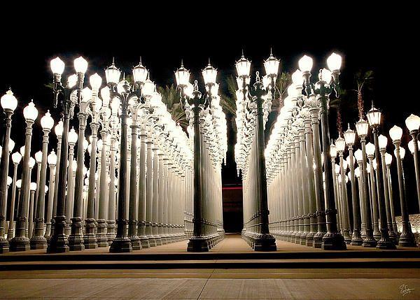 Chris Burden's Lights Two