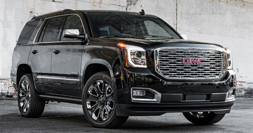 2018 Gmc Yukon Denali Ultimate Black Edition Brings The Bling To La Gmc Yukon Denali Gmc Suv Gmc Denali