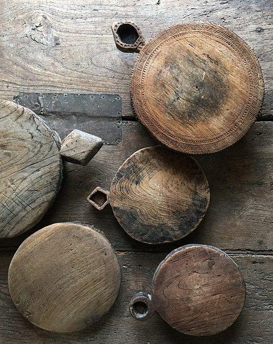 old chapati boards