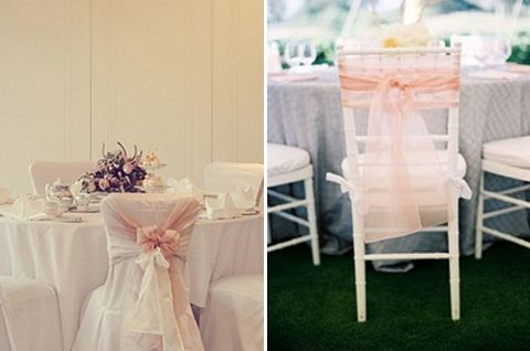 chair sash alternatives outdoor wire chairs it s all in the details six alternative decor ideas party tulle sashes decoration for less is going to be tied rather than a big bow choose simple knot