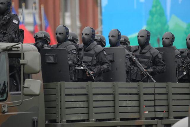 le nouvel uniforme des forces spéciales taiwanaises