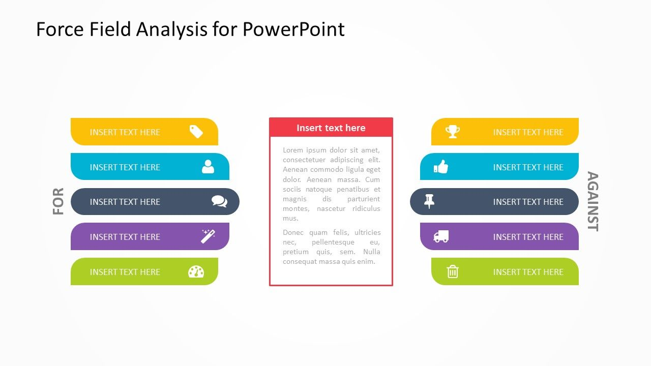 Force Field Analysis Powerpoint Template Forces Are Working For You And Your Business And Which Ones Are Working Ag Powerpoint Analysis Powerpoint Presentation Force field analysis template powerpoint