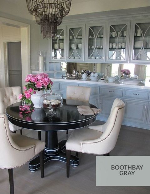 Best Bm Boothbay Gray Cabinet Paint Colors Grey Cabinets 400 x 300