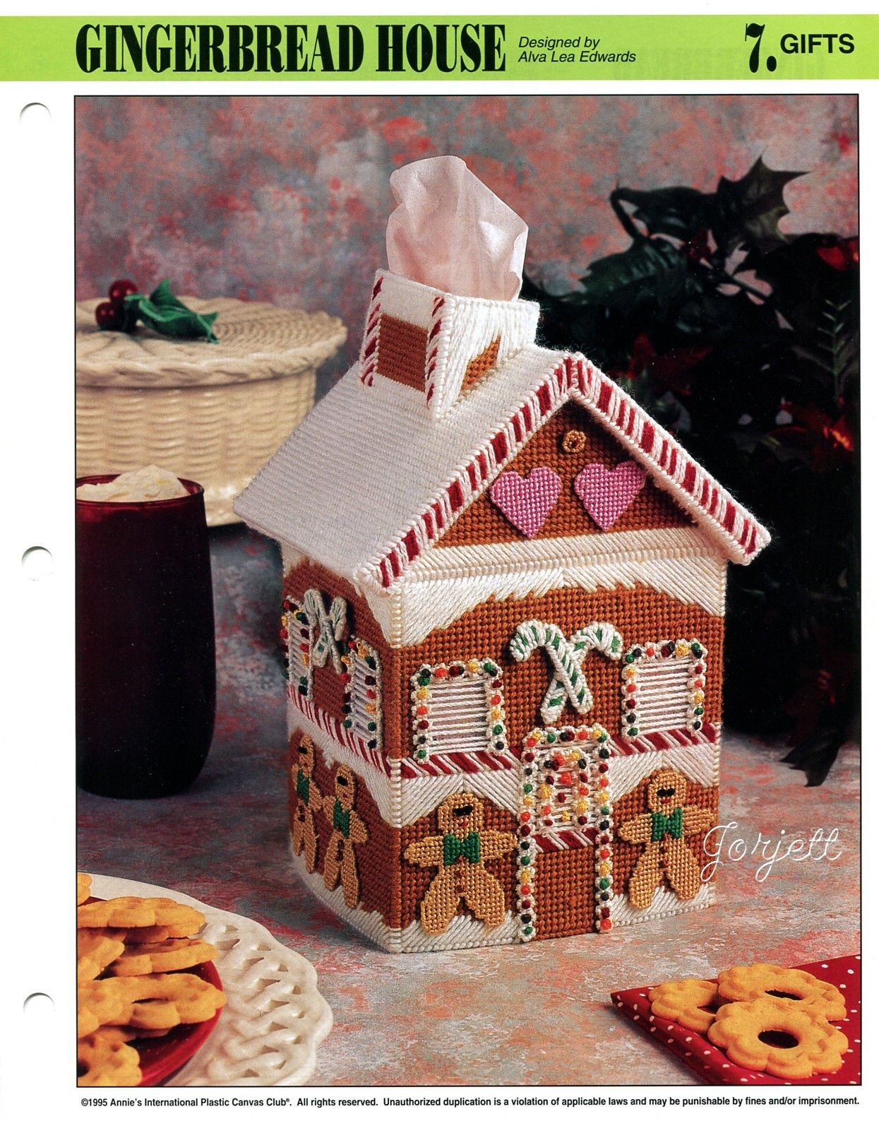 PUBLICATION TITLE Gingerbread House. FINISHED PROJECT