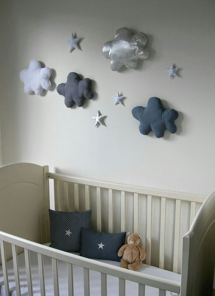 Ideas Para Decorar Con Nubes Decoracion Cuarto Bebe Diseno De