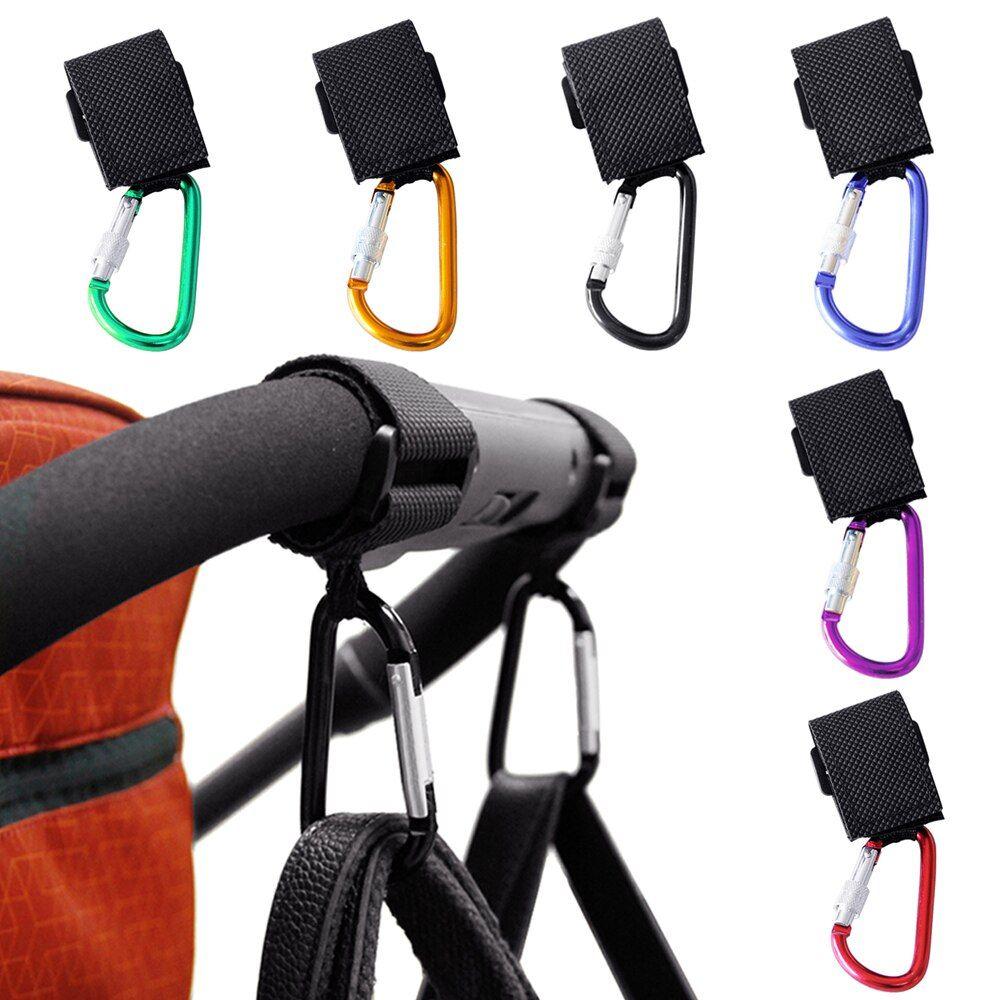 1 pc Baby Stroller Clip Hook Diaper Bag Hanger Universal