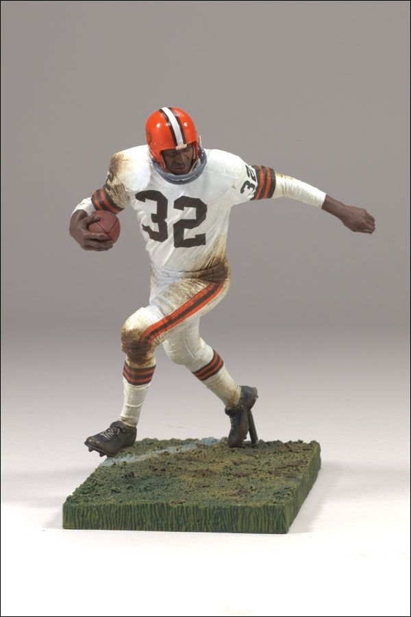 McFarlane Toys NFL Legends Series  Jim Brown Action Figure Browns  Random Geekery