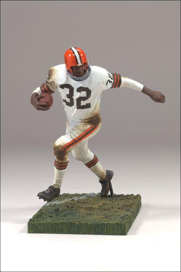 McFarlane Toys  NFL Legends Series - Jim Brown Action Figure  Browns ... 56cad1982