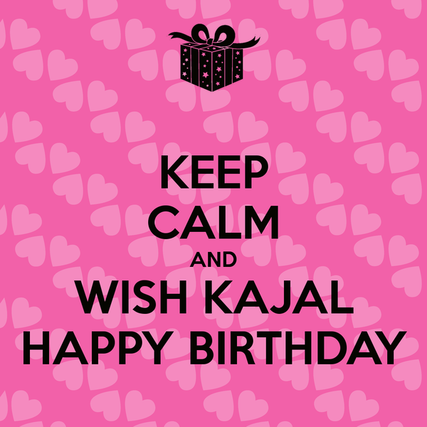 Happy Birthday Kajal Cake Images Wishes Quotes Sms Happy