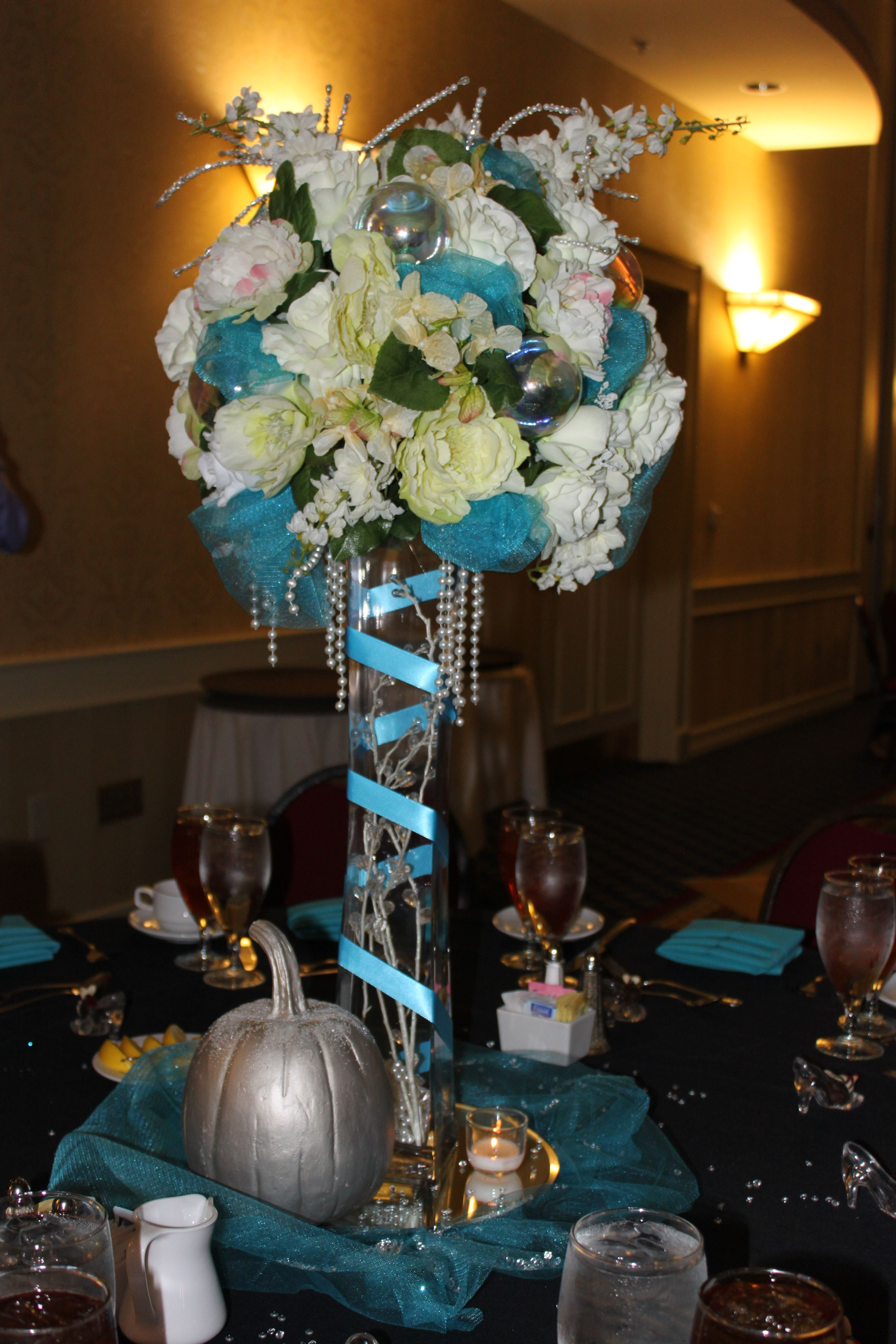 Matrimonio Tema Once Upon A Time : Once upon a time event fairytales cinderella centerpiece