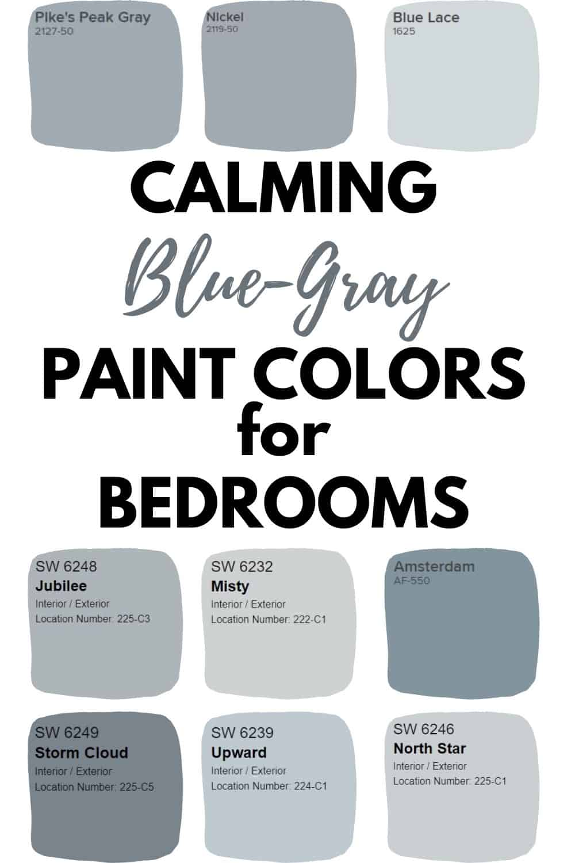Blue Gray Paint Colors In 2020 Blue Gray Paint Grey Paint