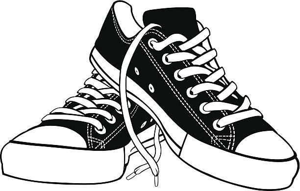 shoe clipart pair shoe pencil and in color shoe clipart ...