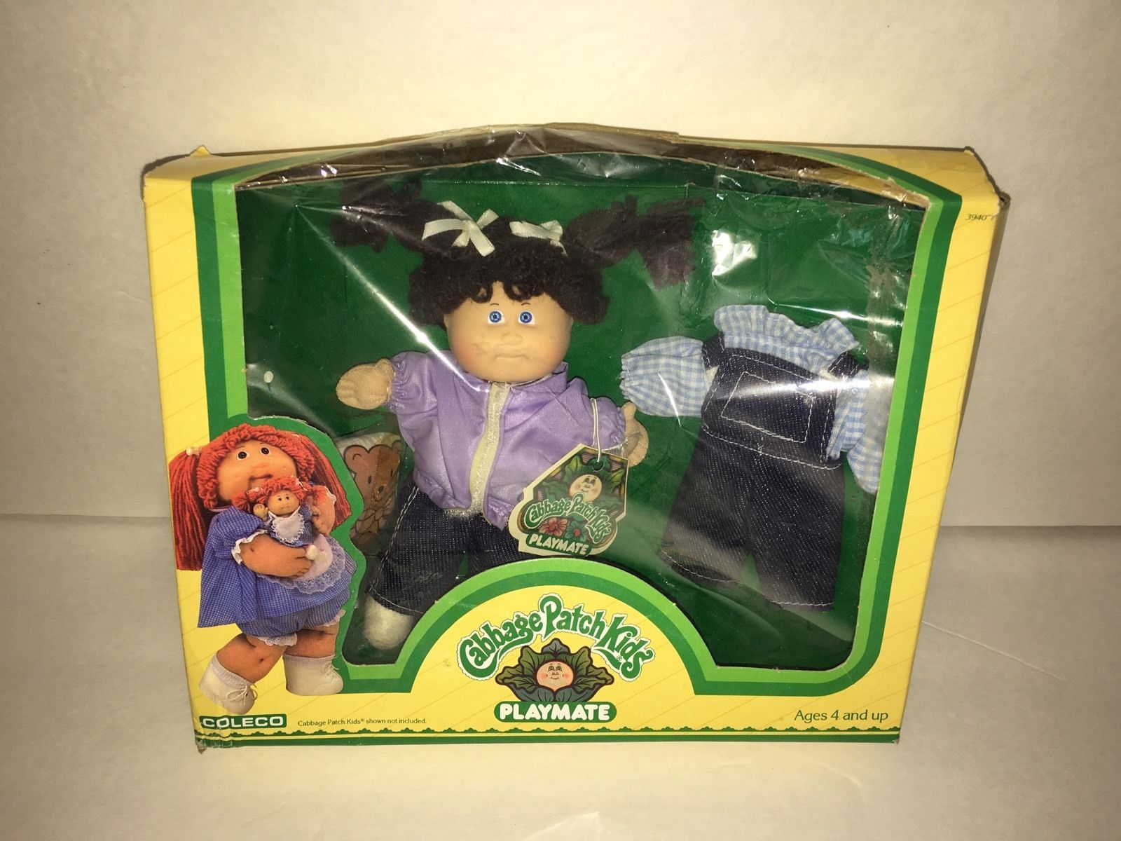 Vtg 1984 Box Cabbage Patch Kids Playmate Mini Doll 5 Girl Denim Outfit Set Dolls Bears Dolls Cabbage Patch Kids Cabbage Patch Babies Cabbage Patch Dolls
