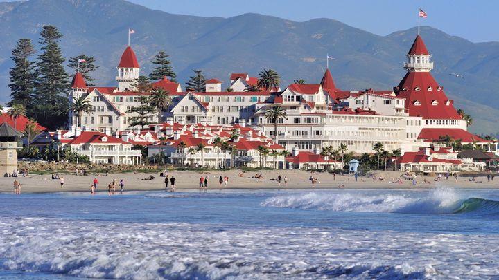 Majestic Hotel Del Coronado Near San Diego Turns 125 Coronado