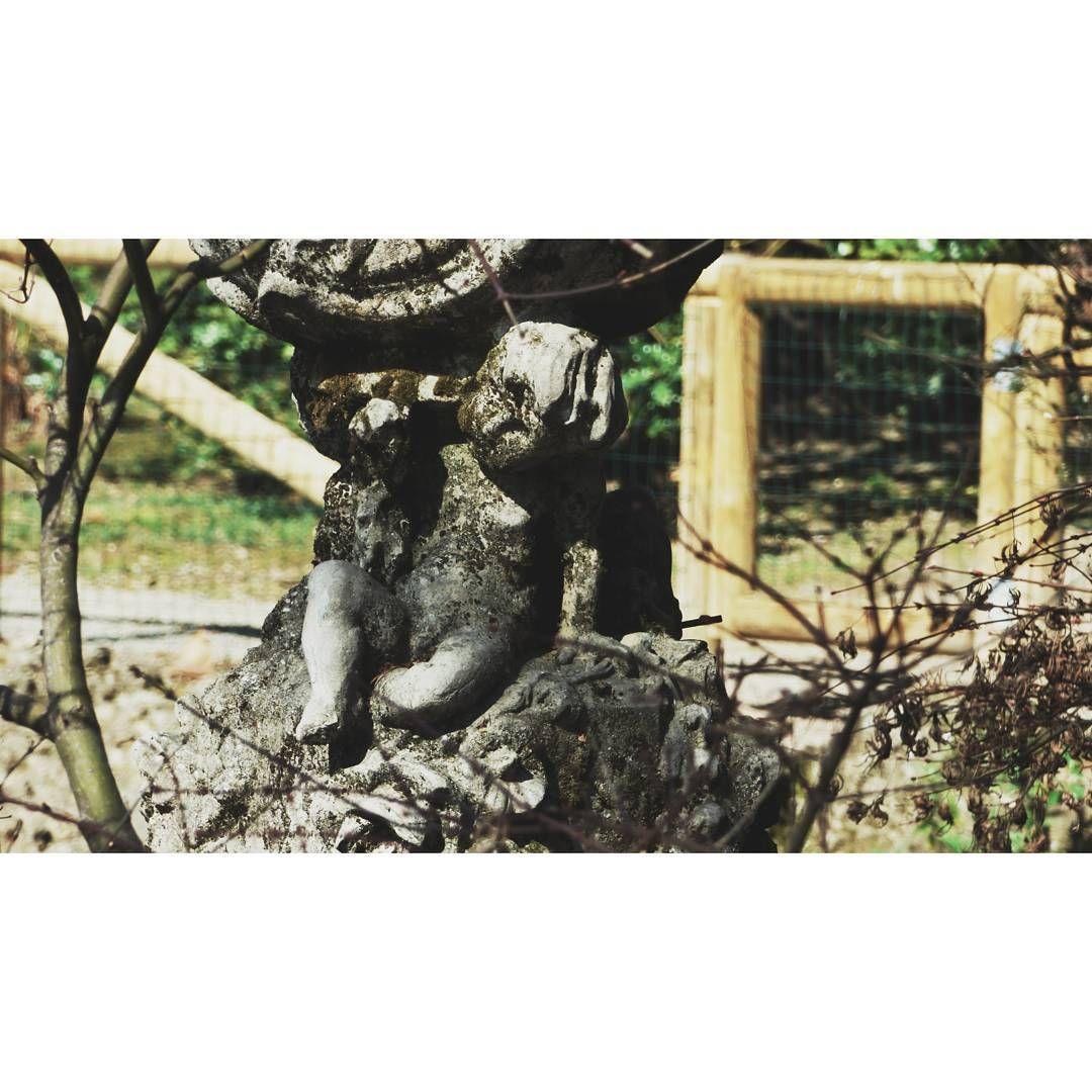#sculpture #old #antique #photography #park #myphotography #bergamo