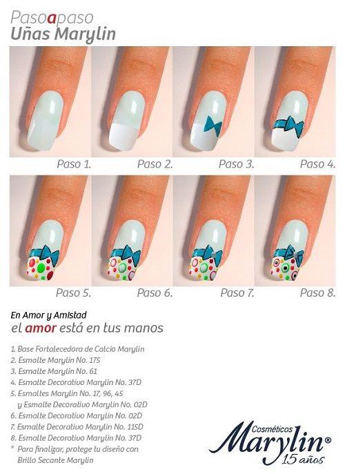Pin De Uñas Decoradas Nailart En Uñas Decoradas Nails Nail Art
