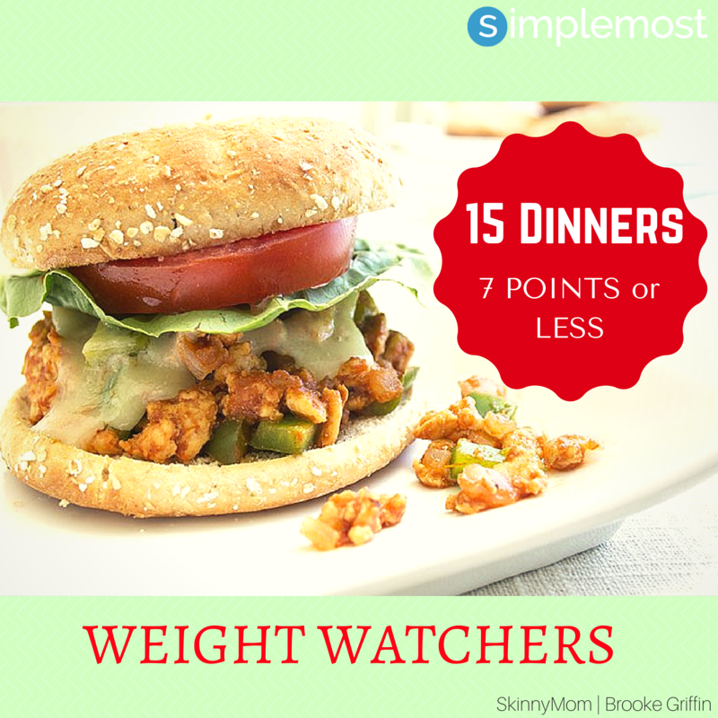 Healthy One Pot Meals 6 Easy Diabetic Dinner Recipes: 15 Delicious Weight Watchers Dinners That Are Less Than 7