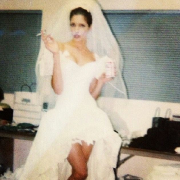 Stephanie On The Set Of November Rain Video I Think This Pic May Well Have Made My Night Rain Wedding Wedding Stephanie Seymour
