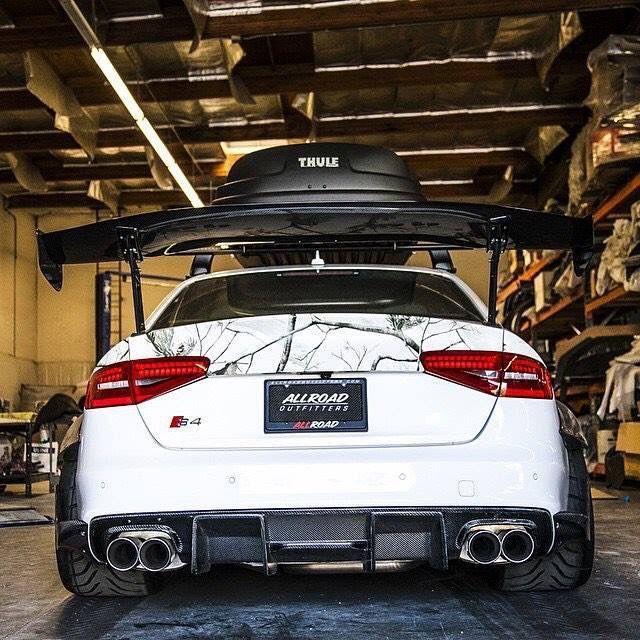Audi S4 Aftermarket: #Audi #S4 #Modified #Custom