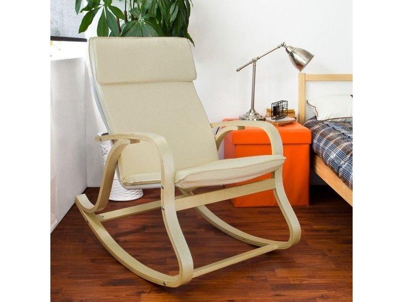 Fauteuil A Bascule Fauteuil Bercant Rocking Chair Fauteuil Relax Bouleau Flexible Beige Fst15 W Sobuy Fauteuil Relax Fauteuil A Bascule Chaise De Salon