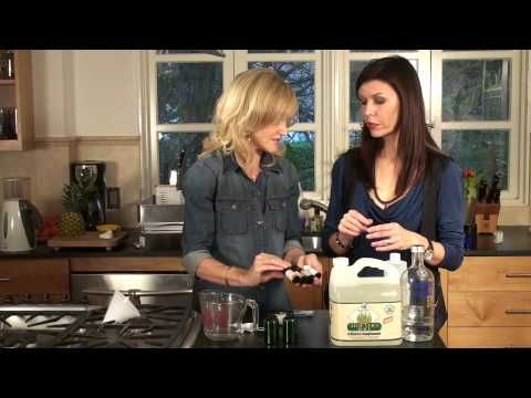 How To Make Non Toxic Hand Sanitizer By Sophie Uliano Author Of