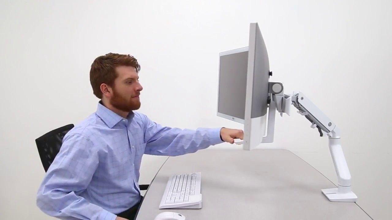 Ergotron Hx Arm Monitorhalterung Produktvideo Lcd