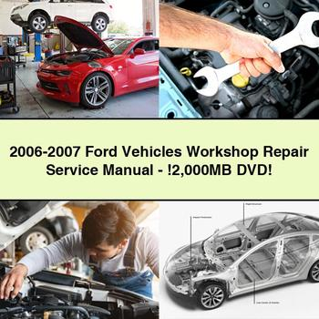 2006 2007 Ford Vehicles Workshop Repair Service Manual 2 000mb Dvd Pdf Download Ford Expedition Repair