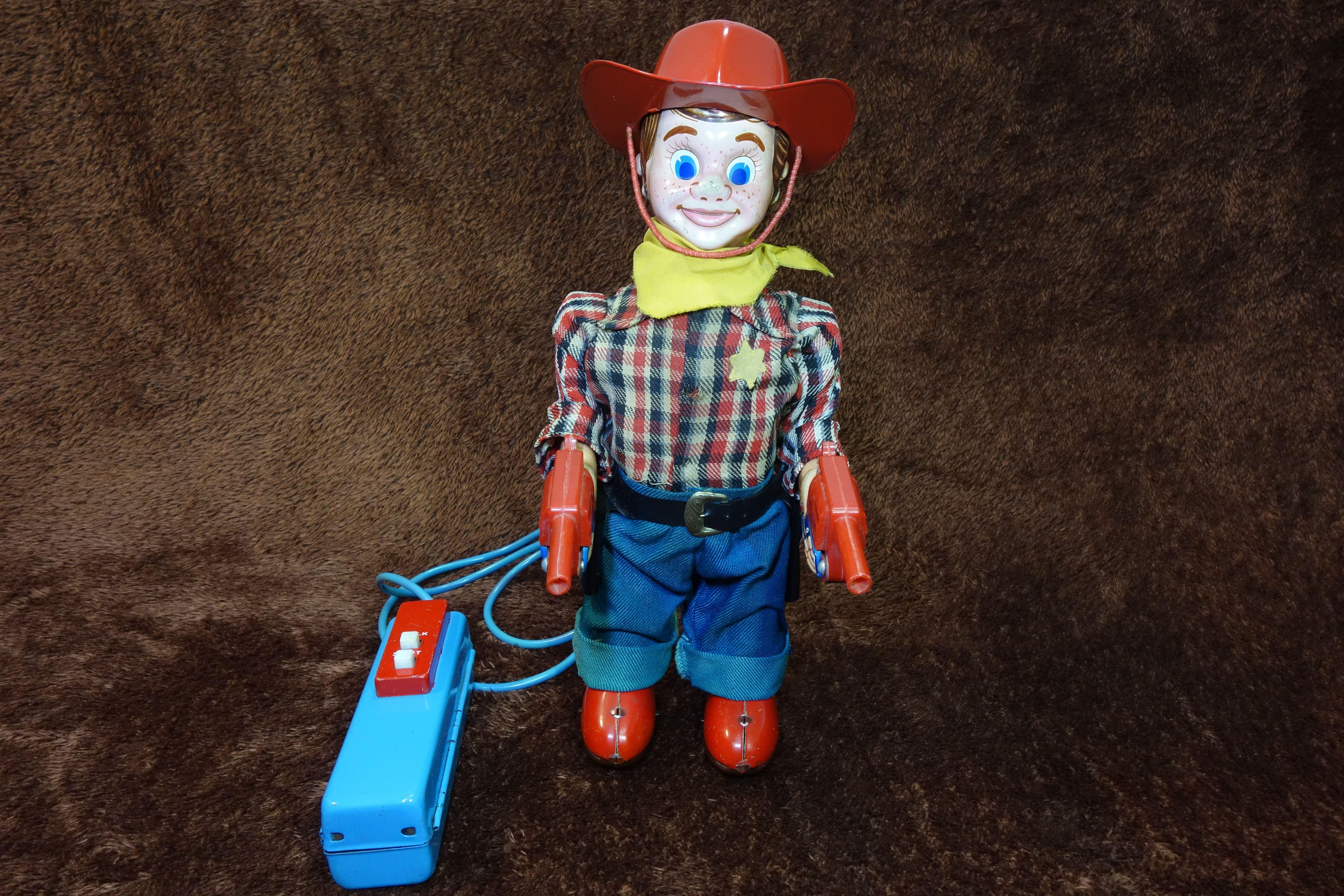 Yonezawa Marshal Wild Bill Cowboy.