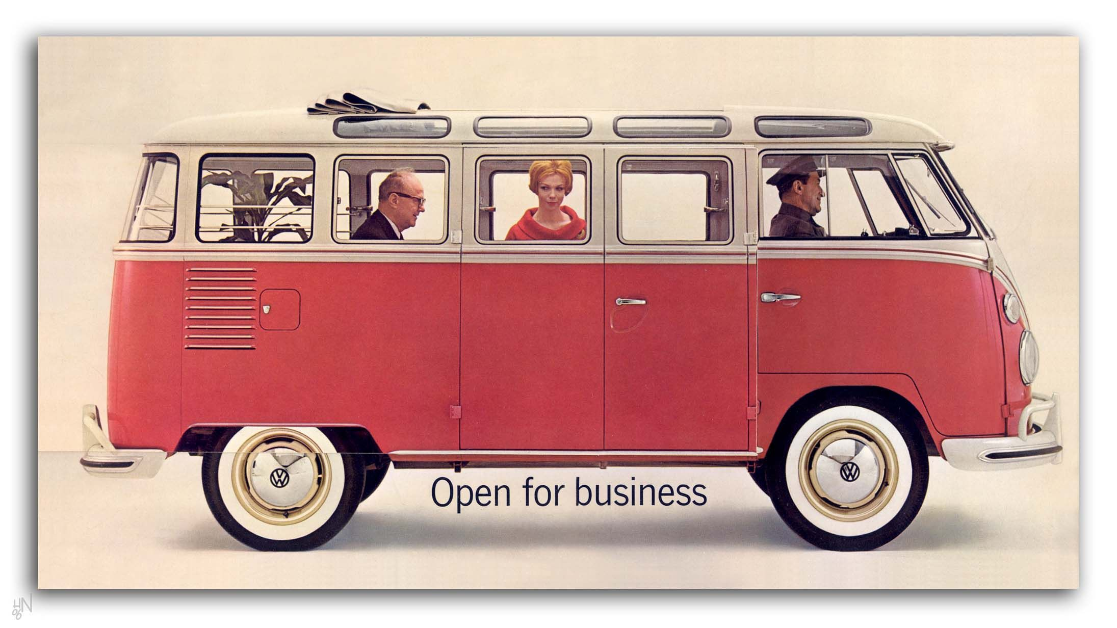 1966 vw bus u s brochure page 1