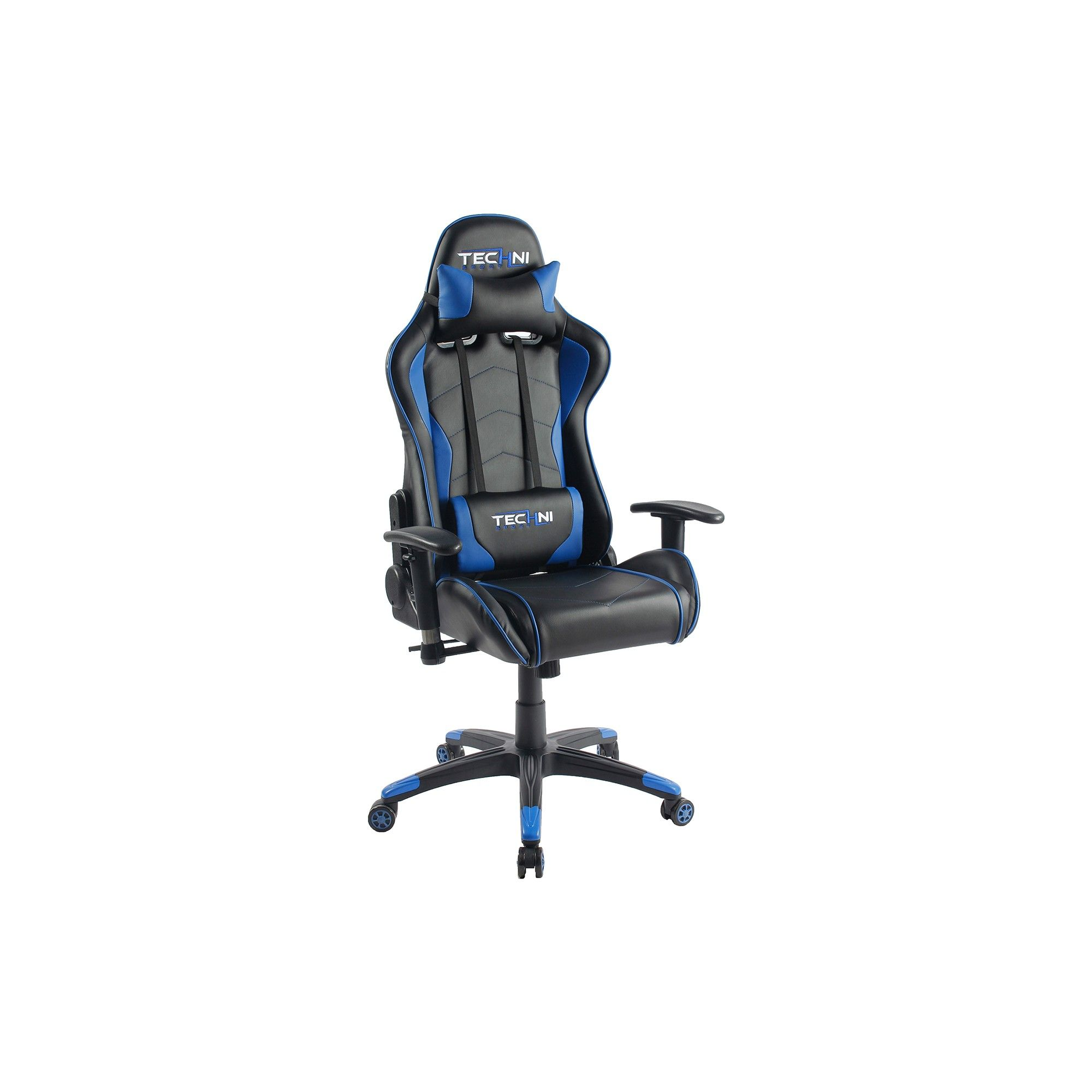 Küchenideen entlang einer wand ts ergonomic high back computer racing gaming chair  blue