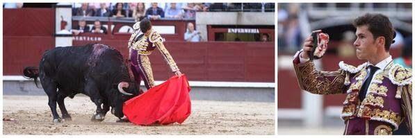 Lascosasdeltoro: Daniel Luque, Puerta Grande en Las Ventas.