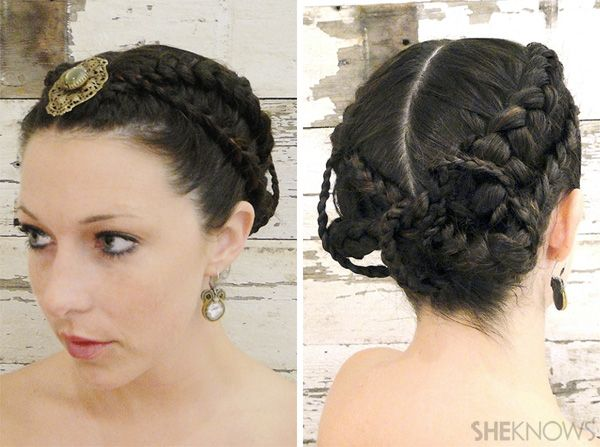 the hunger games wedding hairstyle tutorial from saloncapri