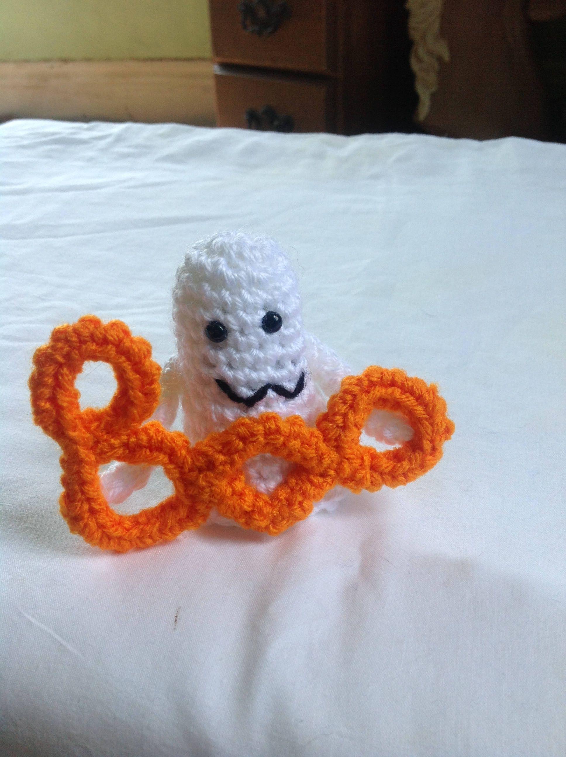 Crochet ghost amigurumi ghost halloween stuffed ghost